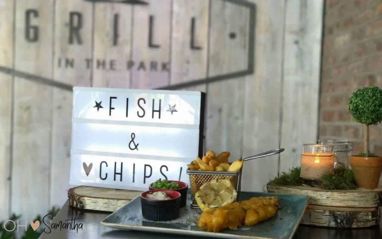 Dinner from the new menu at the recently refurbished Grill In The Park at the Worsley Marriott Hotel and Country Club is a must if you're in the area