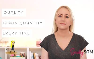 Social Media Posts: Quality Beats Quantity Every Time