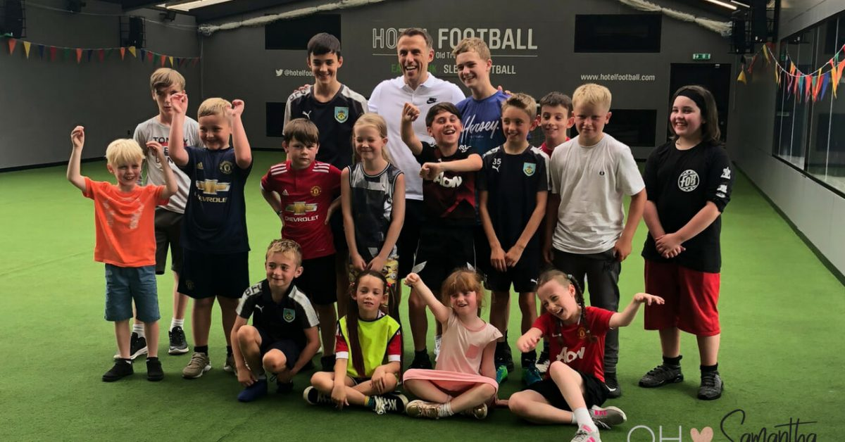 The first Summer Football Camp kicks off at Hotel Football in Manchester on July 30th and I went to take a look at what the kids would be getting up to